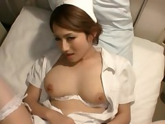 Video of handsome Japanese wed Reon Otowa spreading her legs