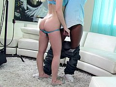 Submissive white whore